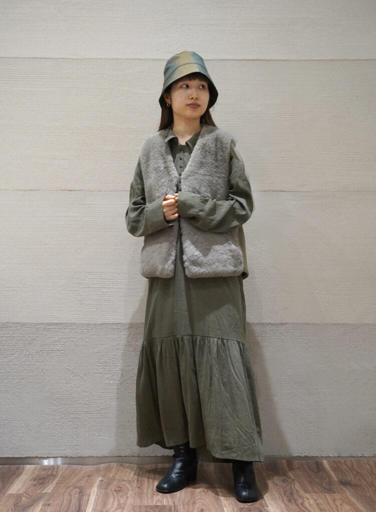 FIKA. khaki girly<br>151cm